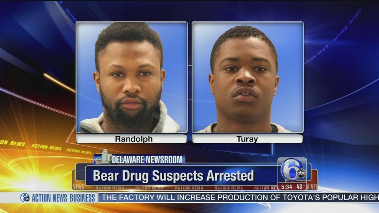 2 Delaware men face drug charges