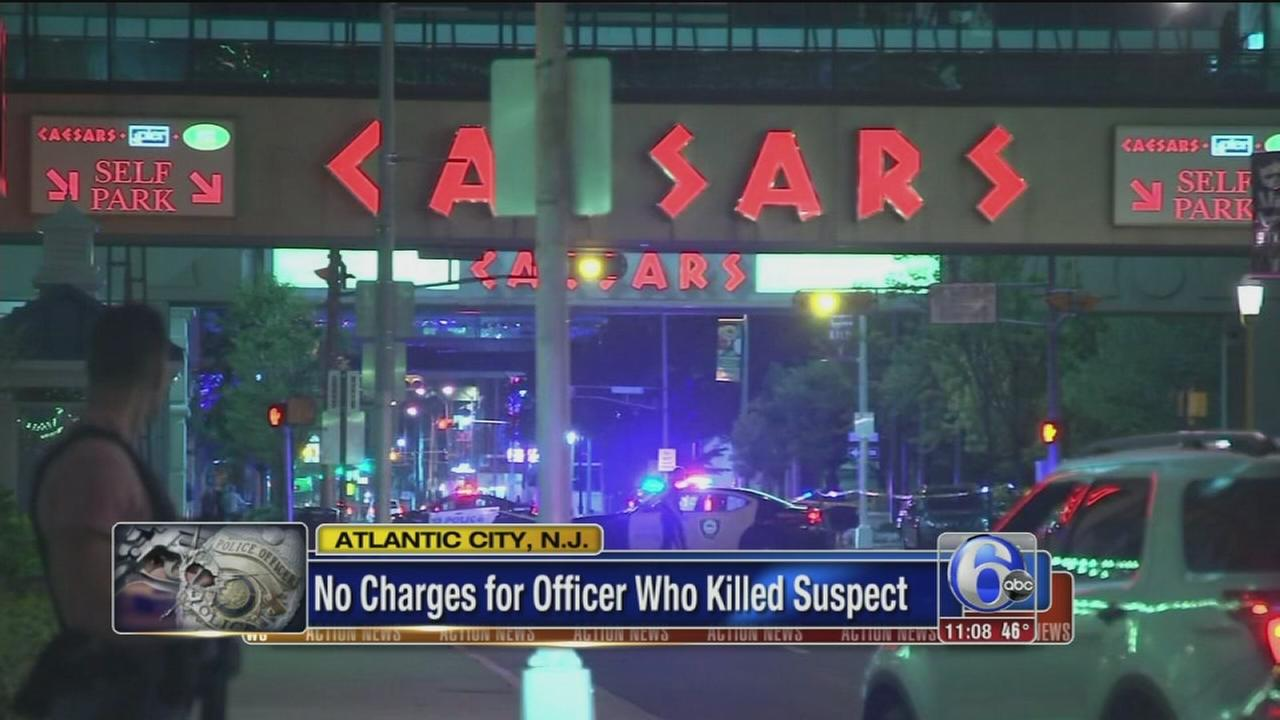 Report: No charges for Atlantic City police officer who killed suspect