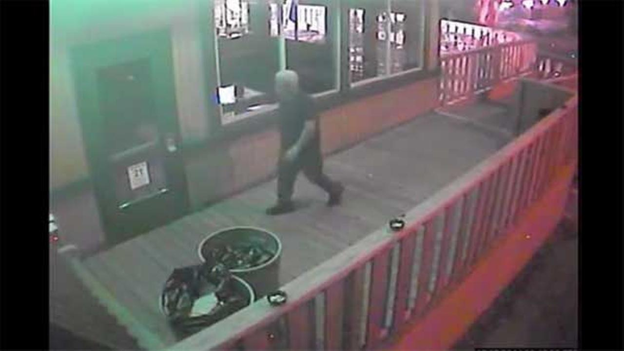 Suspect wanted for burglarizing a bar in Philadelphias Holmesburg section.