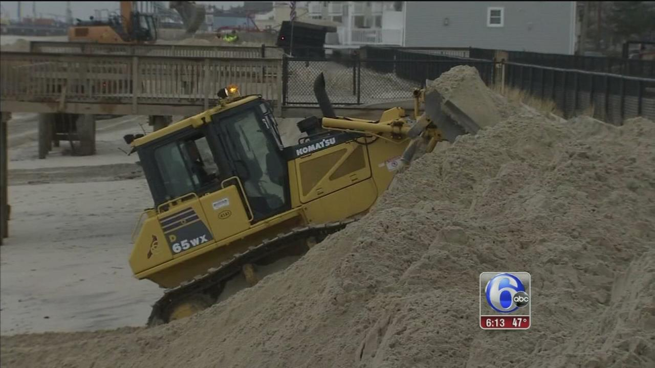 Ocean County officials work to fight beach erosion after noreaster