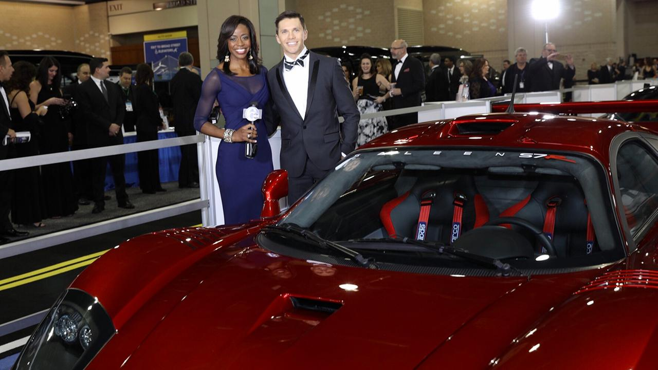 The Philadelphia Auto Show kicked off with a fundraising gala Friday night.Bob Watts