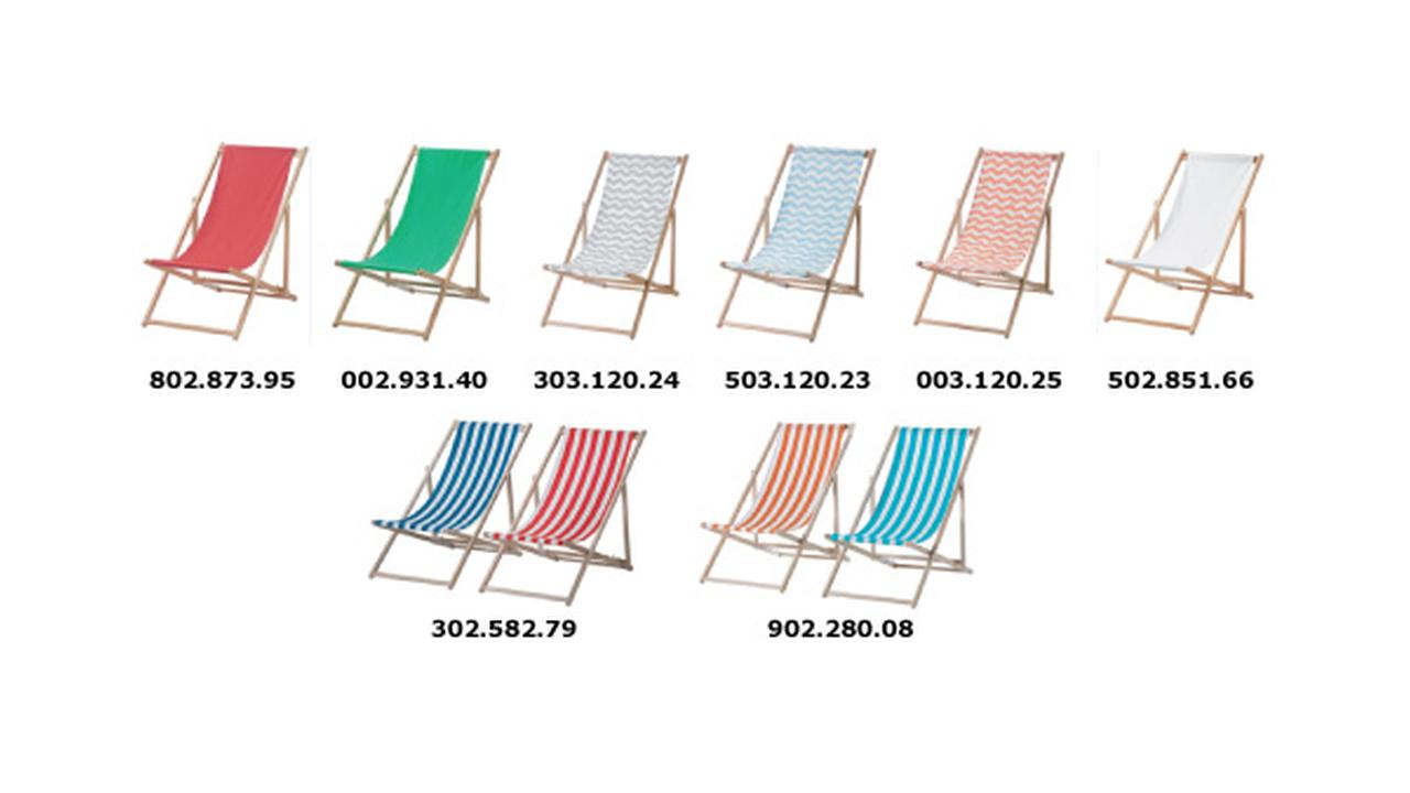 IKEA recalls 33K beach chairs due to fingertip amputation injuries