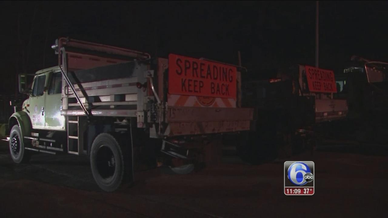 Local crews to hit roads ahead of morning snow