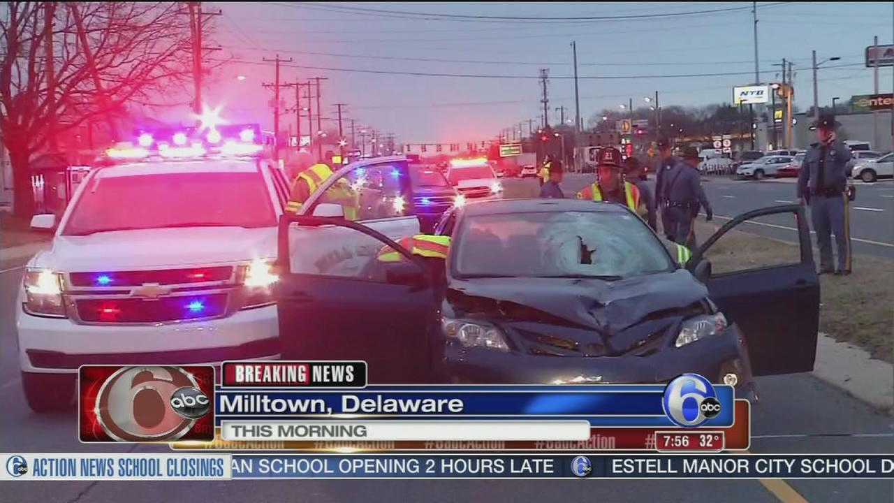 Pedestrian struck and killed in Del.