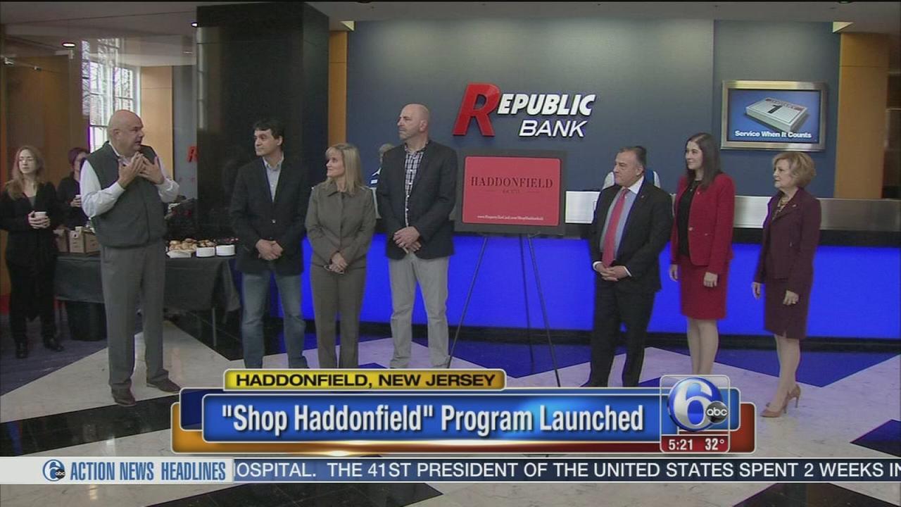 Shop Haddonfield reward program