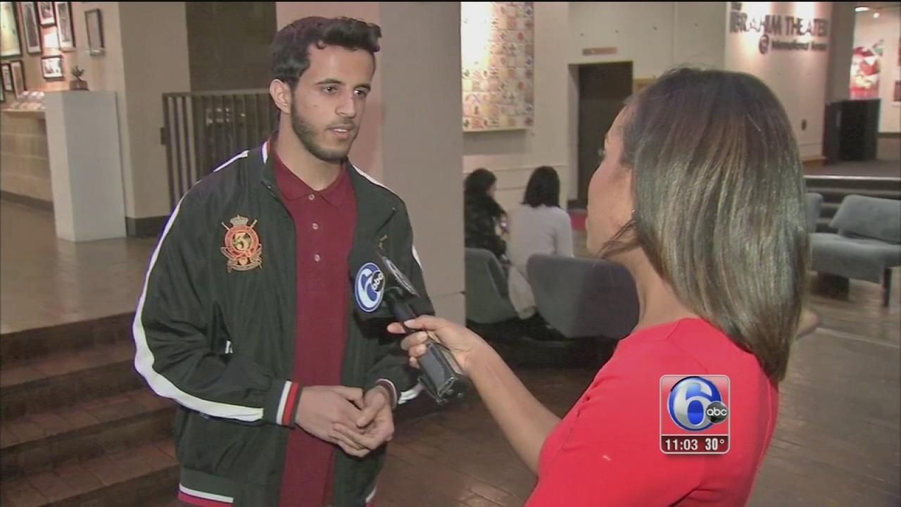 International students in Philadelphia concerned, fearful