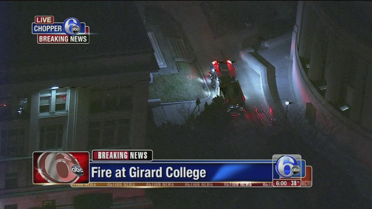 Fire at Girard College