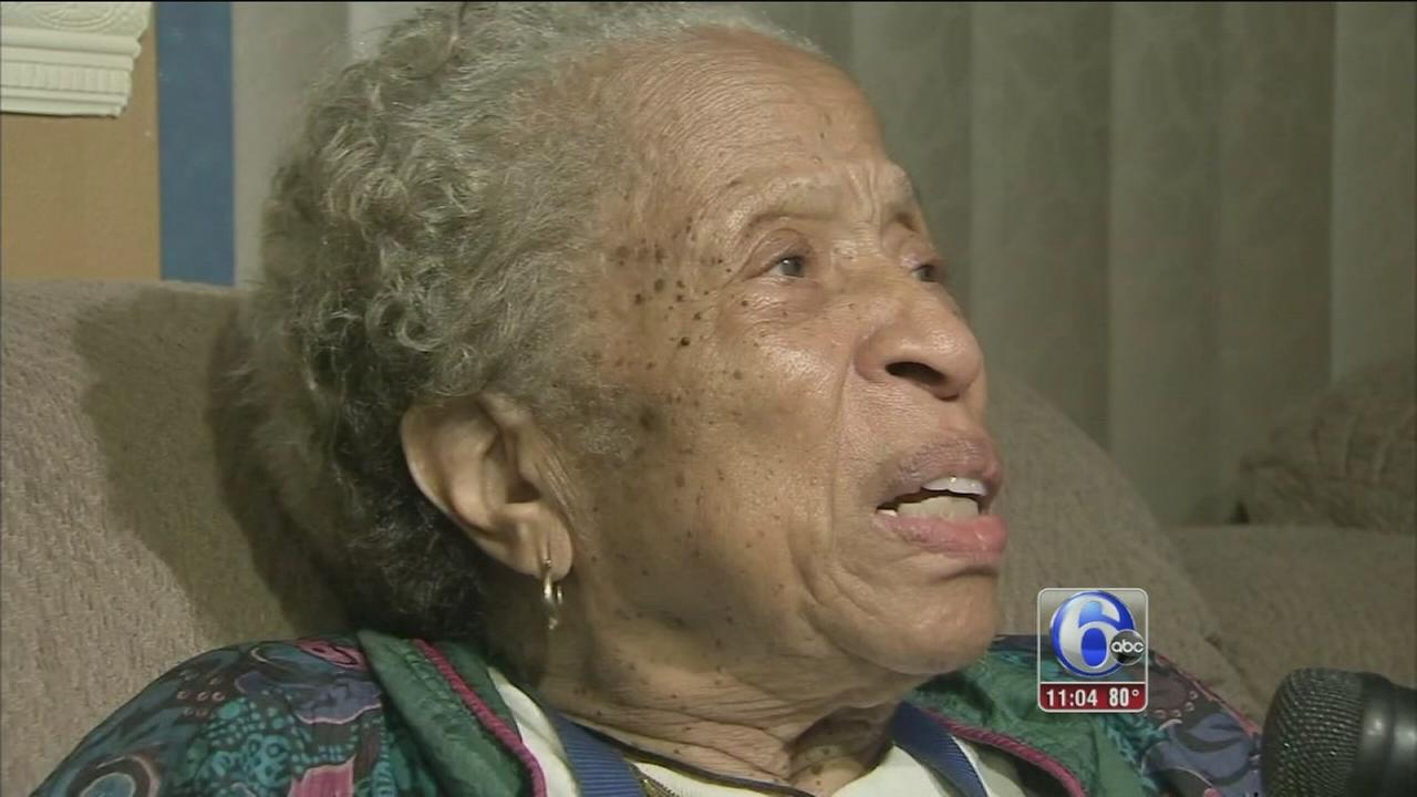 VIDEO: Woman, 91, bites suspect in Cobbs Creek burglary