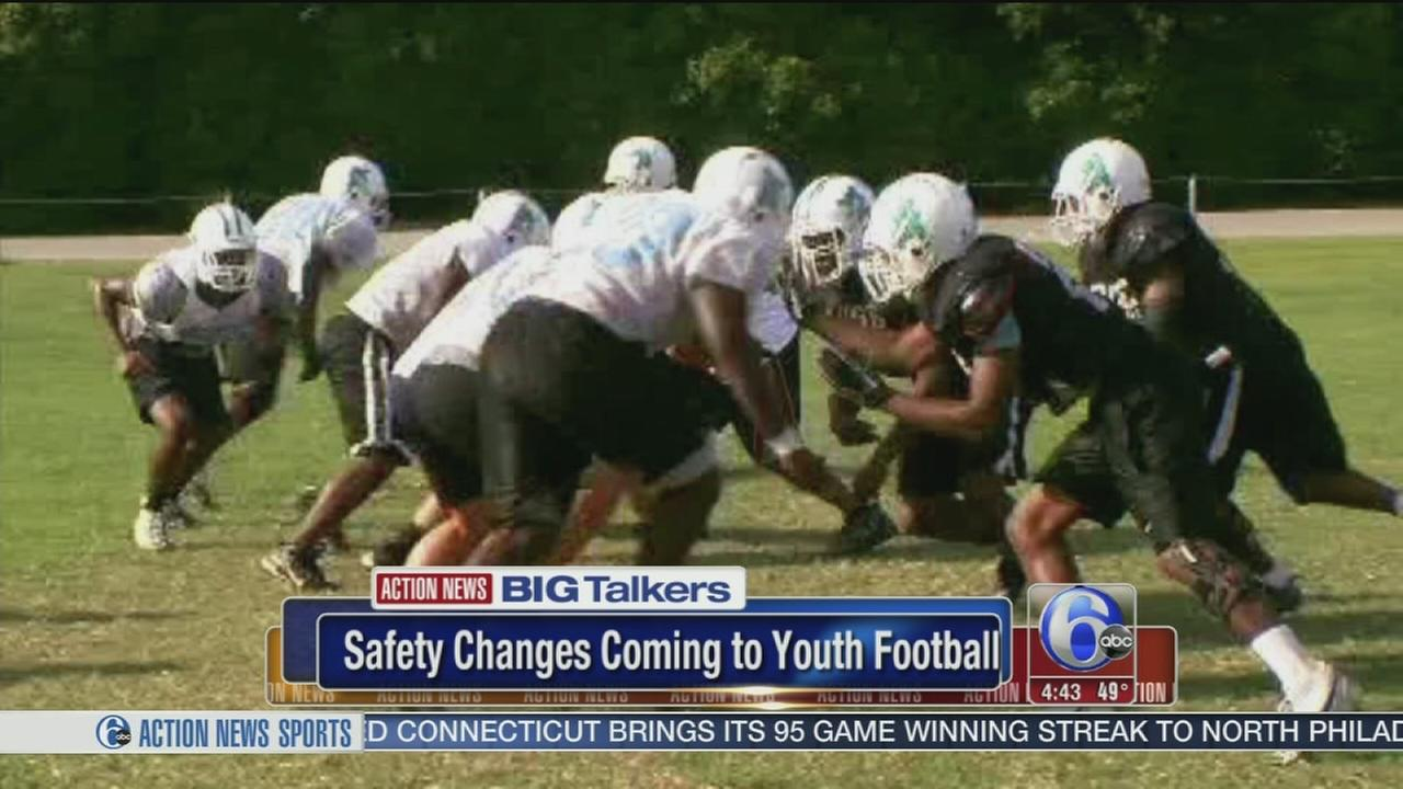 Youth football rules undergo dramatic changes