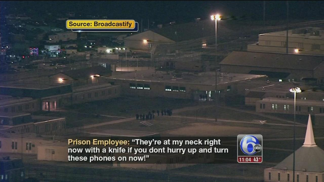 2 hostages released, 2 others remain in Smyrna, Del. prison