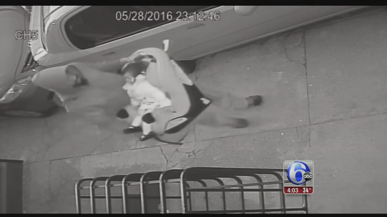 Video released of man who allegedly stole SUV, left toddler