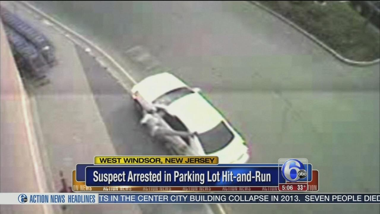 Video released in NJ Walmart hit-and-run