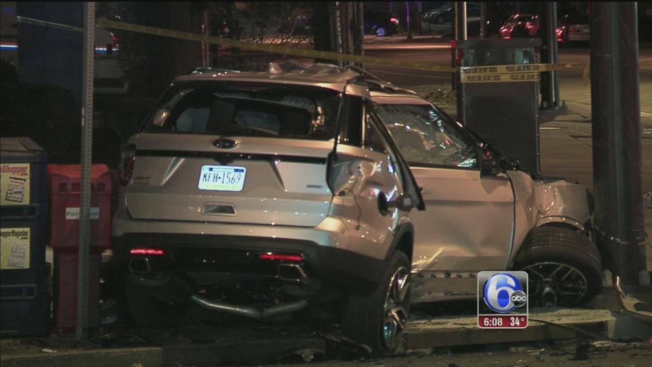 1 dead in head-on crash in West Oak Lane