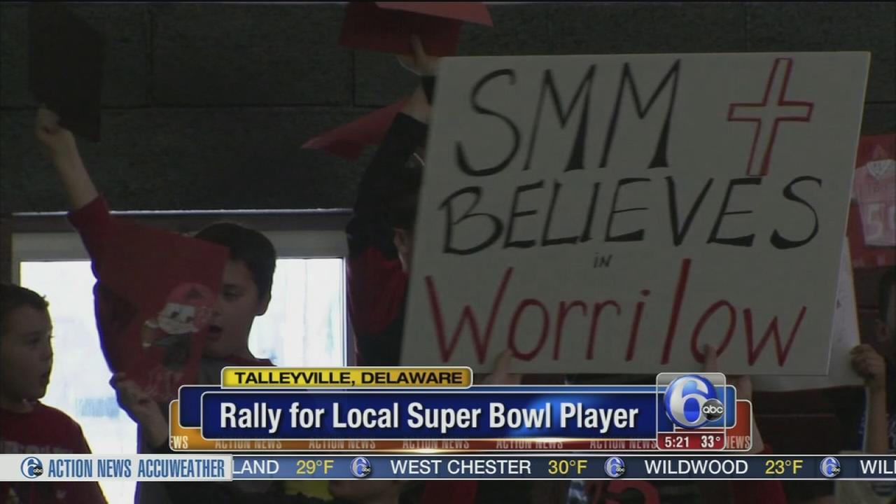 Rally for Paul Worrilow