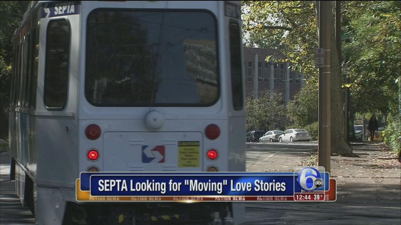 SEPTA looking for moving love stories