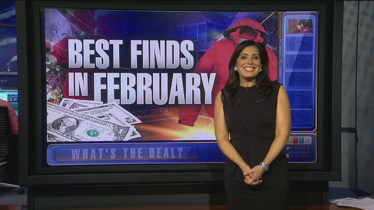 Whats the Deal: Best items to buy in February