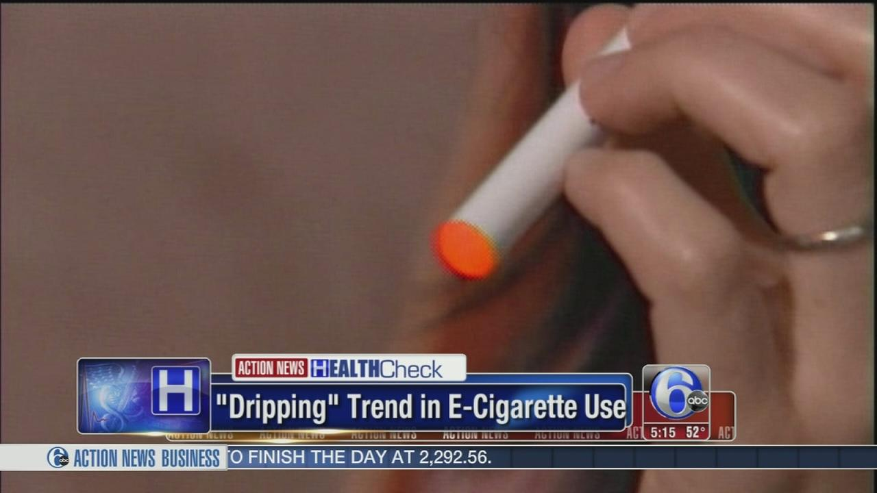 Teens using e-cigs for dripping