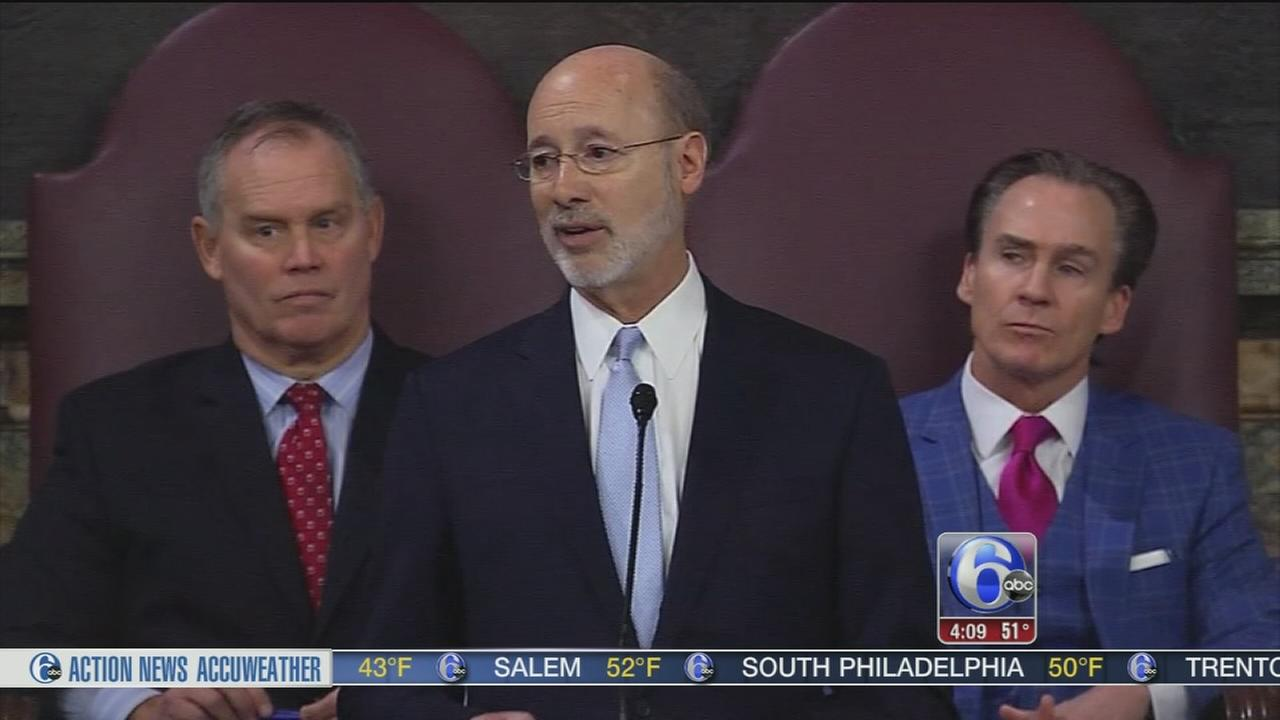 Wolf seeks cuts, revenues to plug $3B budget gap