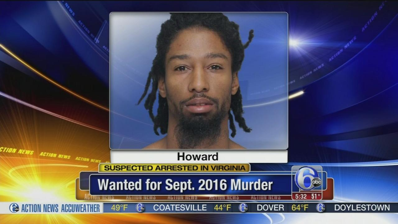 Murder suspect arrested in Virginia