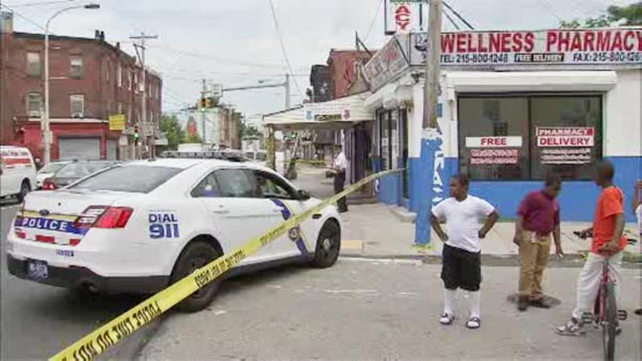 Pharmaceutical delivery person shot in North Phila.