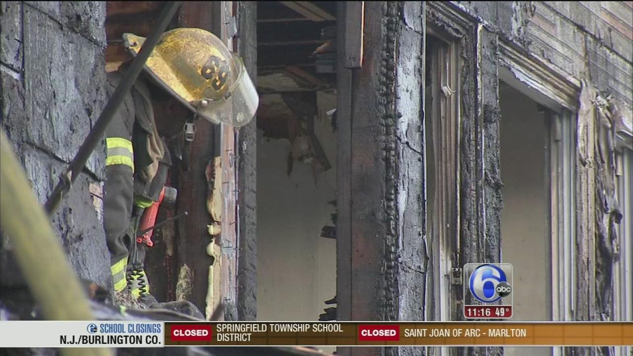 Southwest Philadelphia fire displaces 3 families