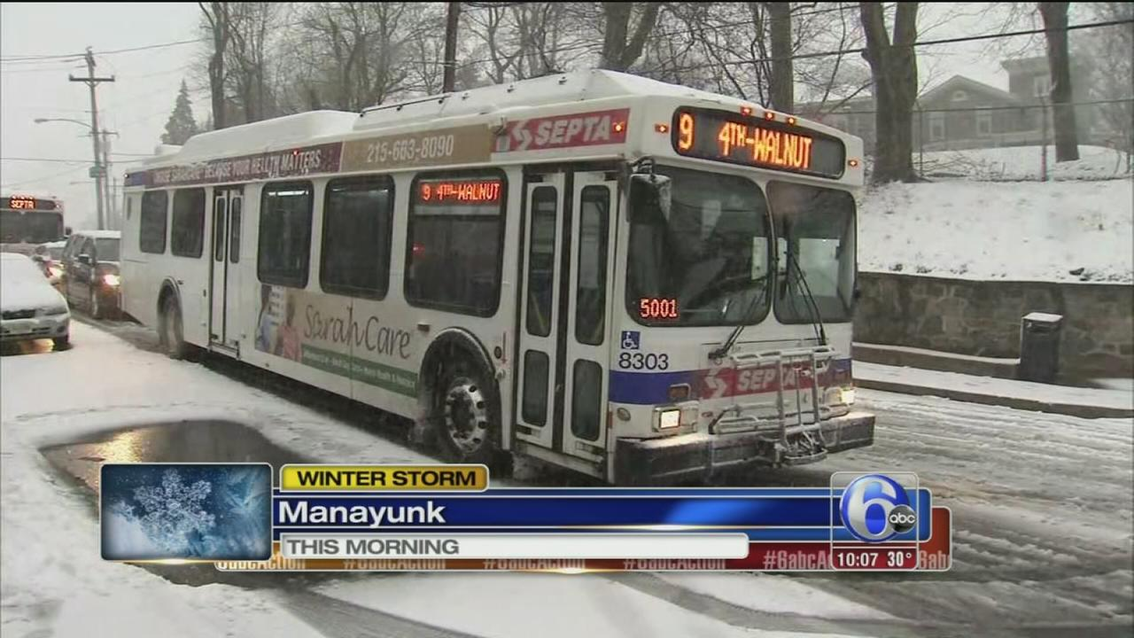 Stuck truck impacts SEPTA riders