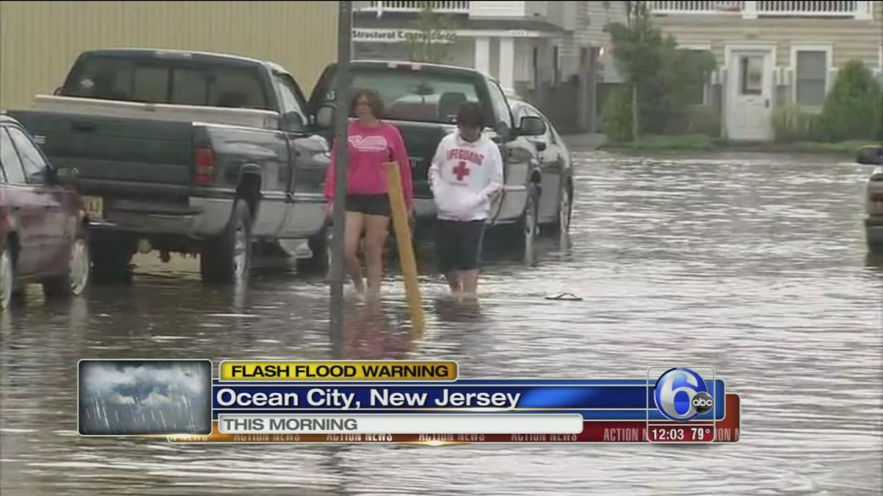 VIDEO: Ocean City dealing with flooding