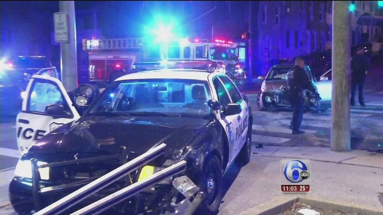 Wilmington officer injured in crash