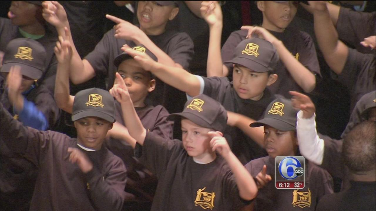 VIDEO: Boys take pledge to lead productive lives