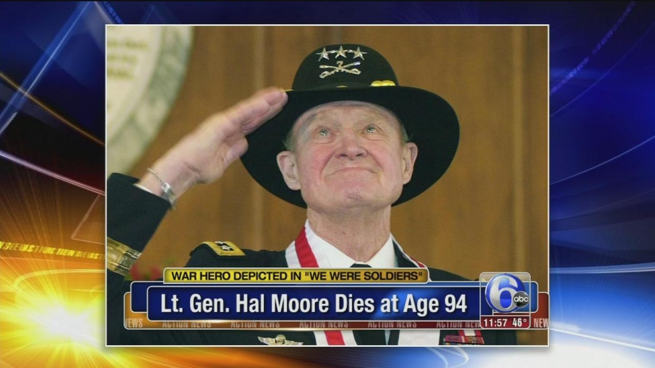 Lt. Gen. Hal Moore dies; depicted in film We Were Soldiers