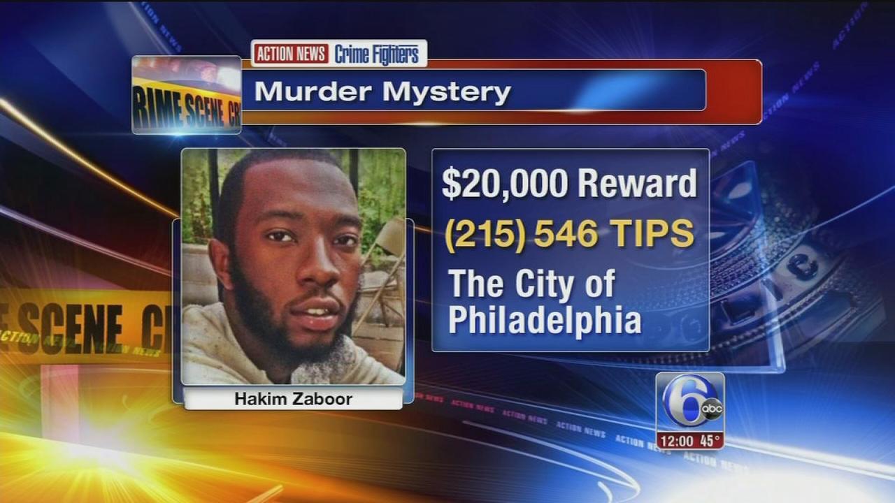 Crime Fighters: Who killed Hakim Chadrick Zaboor?