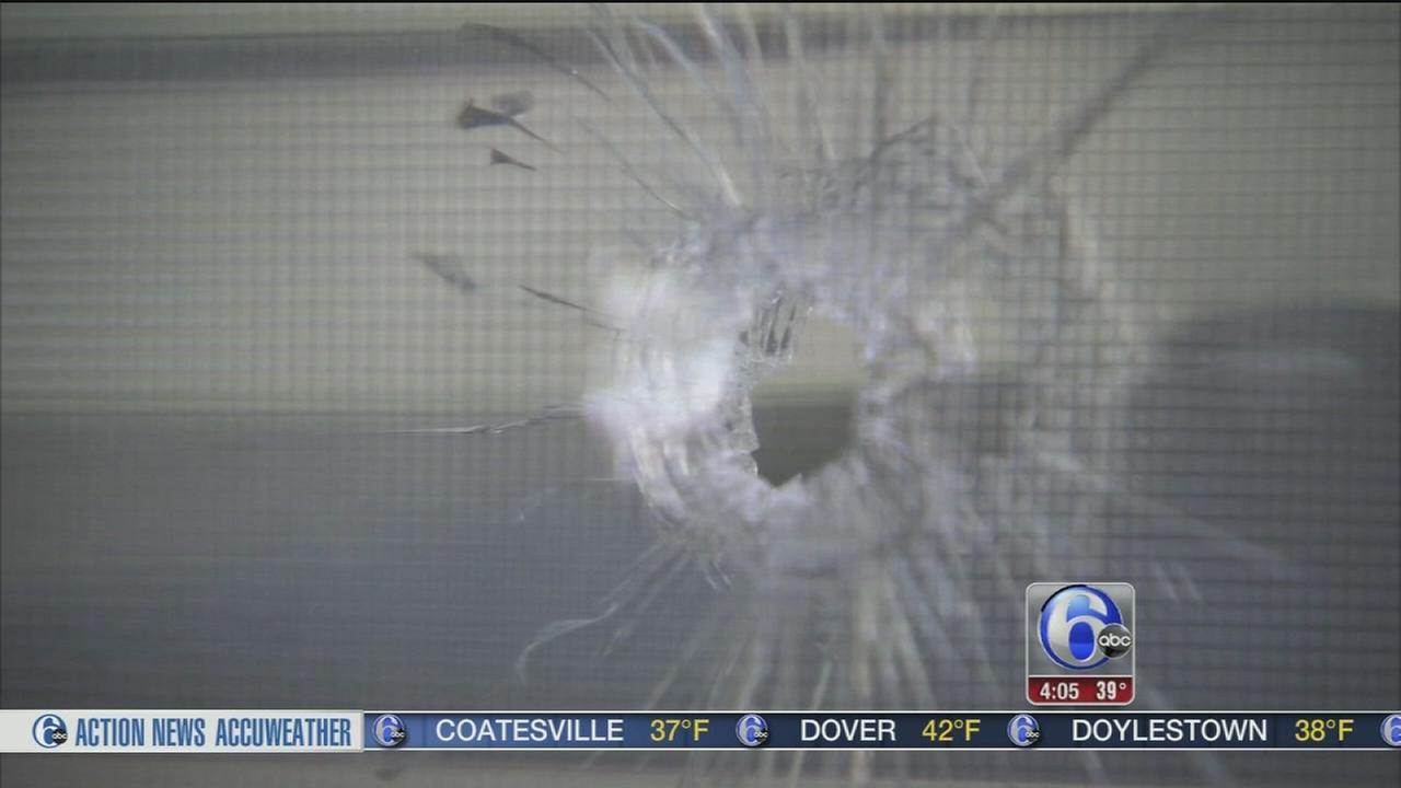 Bullet hits man in wheelchair inside North Philly home