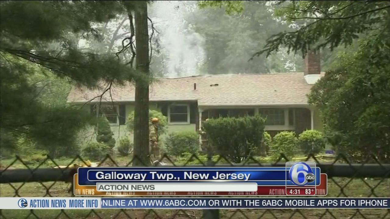 VIDEO: Neighbors: Lightning caused Galloway Twp. fire