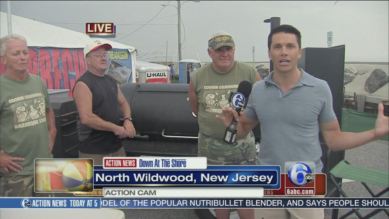 VIDEO: Down at the Shore this weekend