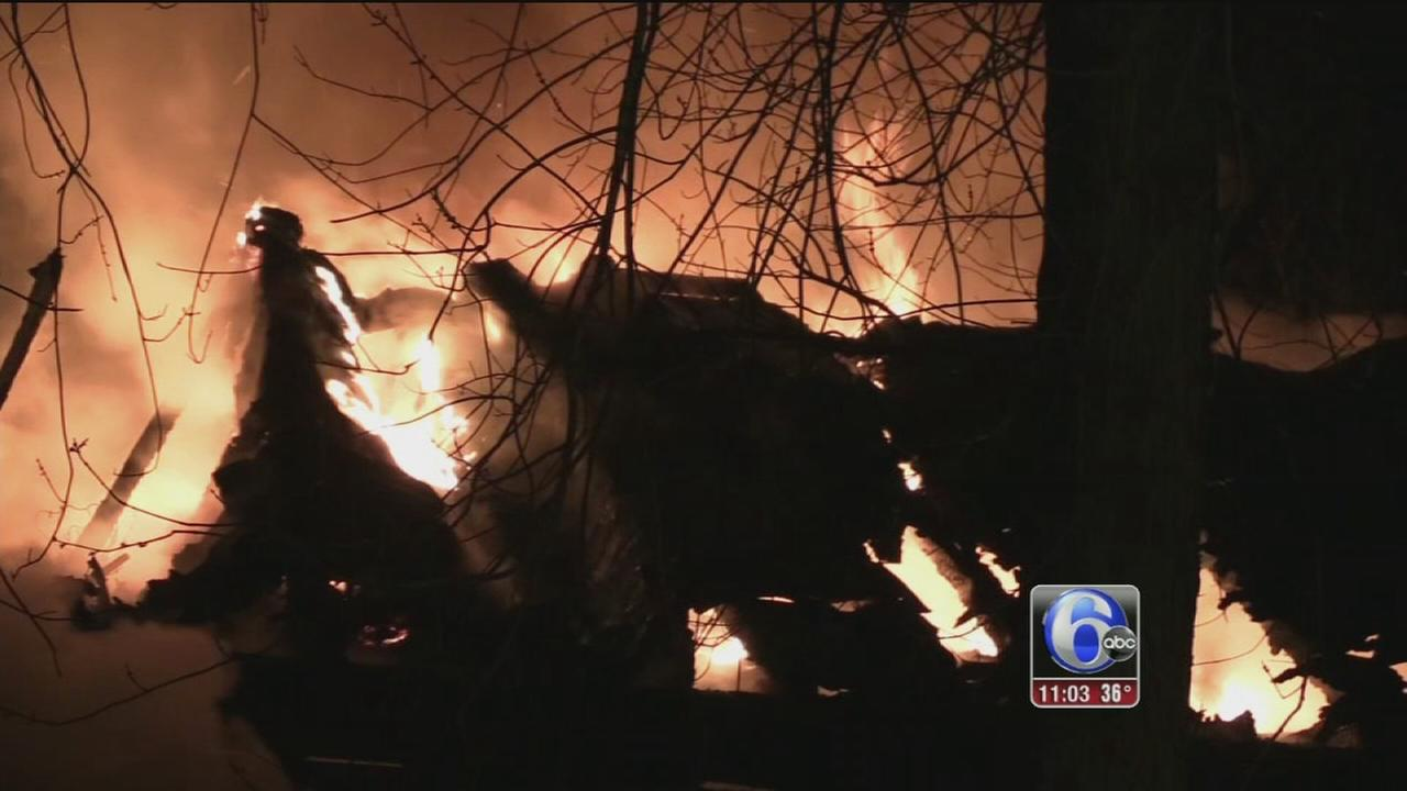 Fire damages old Rockdale Hotel in Lehigh County