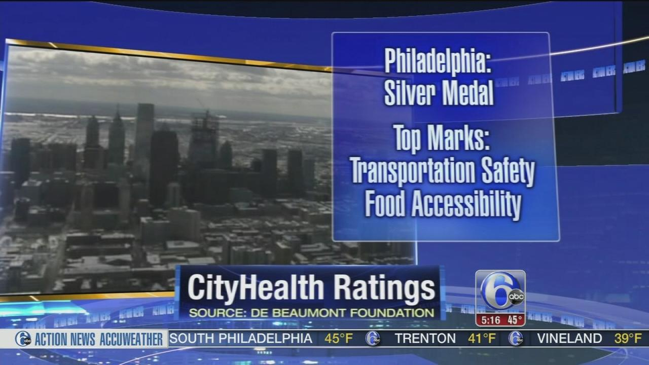 Philly gets silver medal in quality of life study