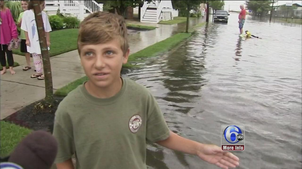VIDEO: Ocean City deals with flooding