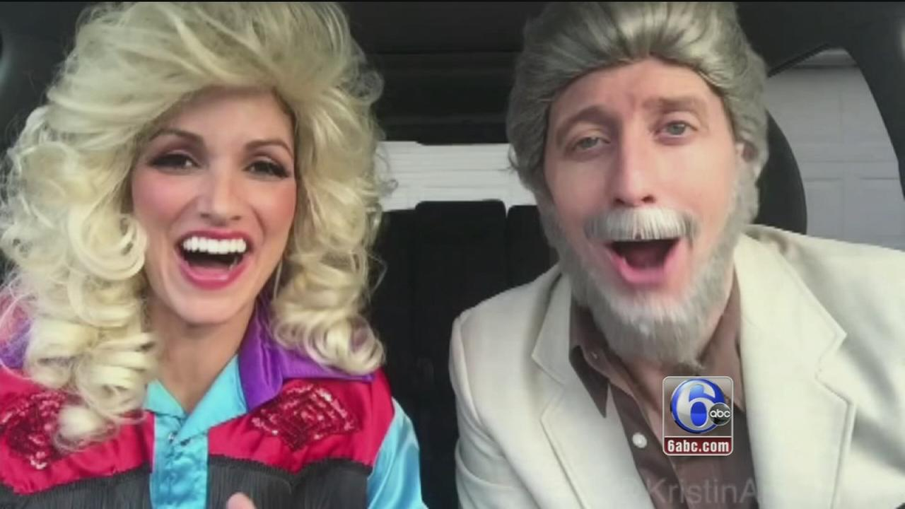 Couples Valentines Day themed lip sync video goes viral