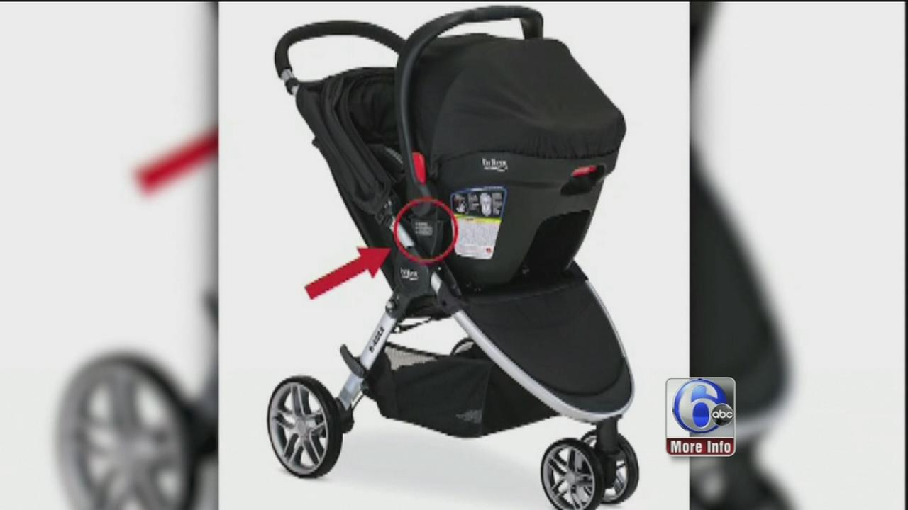 Britax recalls 676,000 strollers after injuries reported