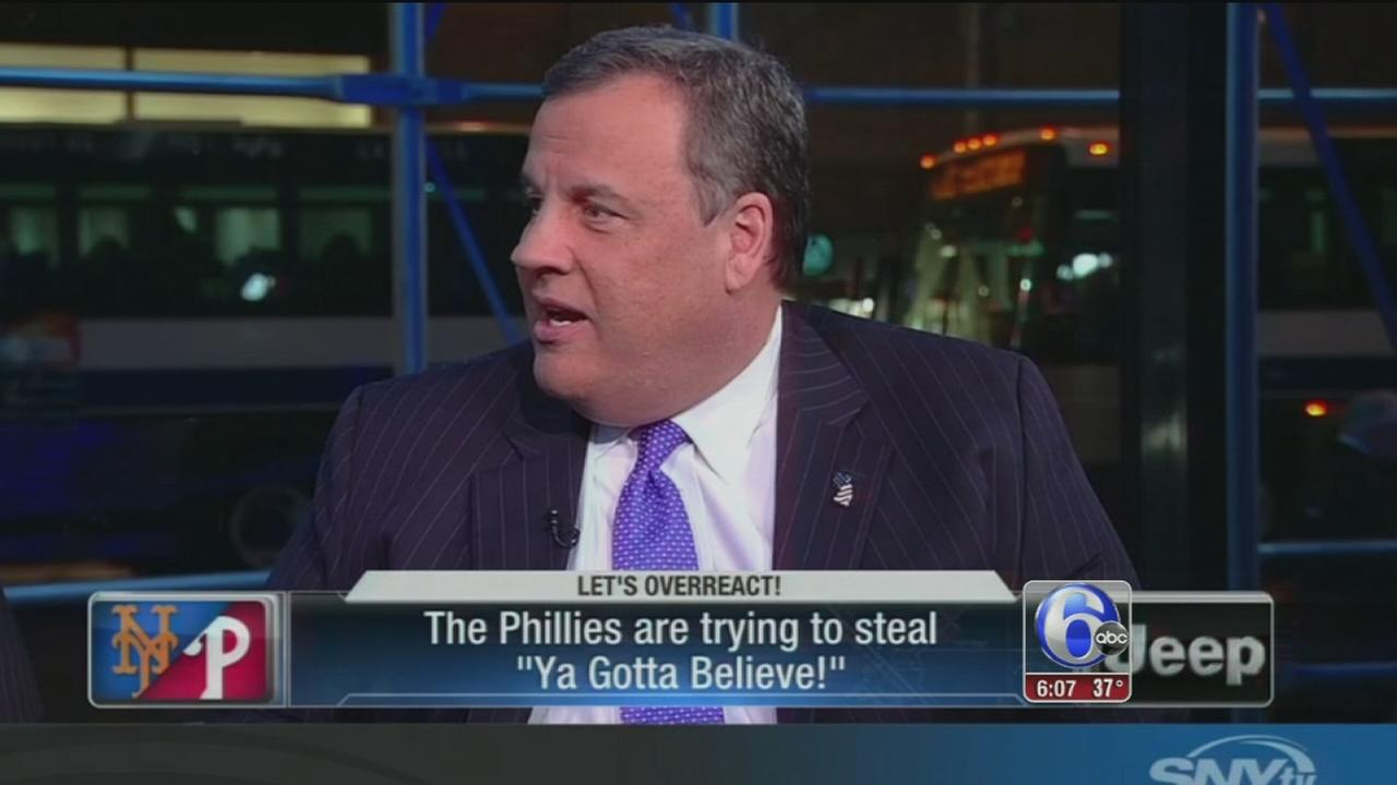 Chris Christie insults Phillies fans
