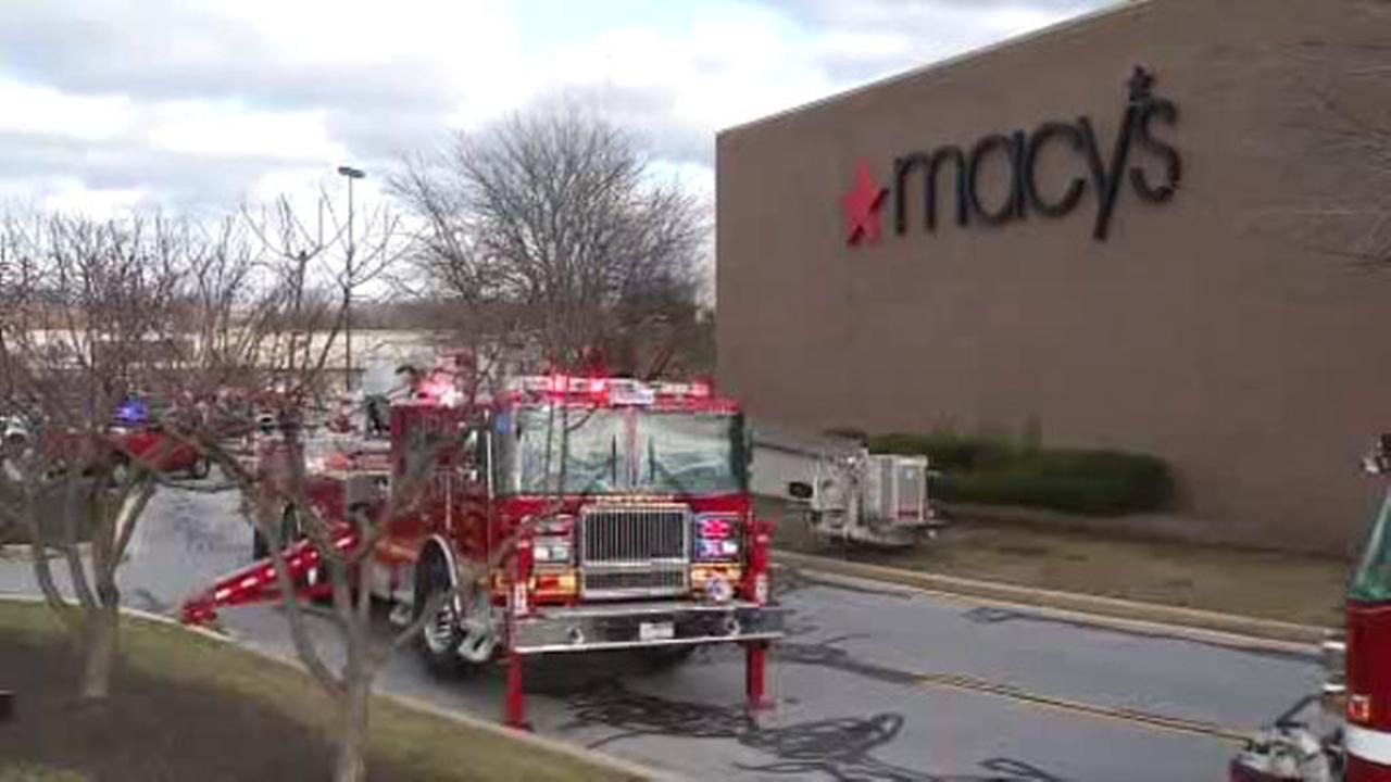 Fire damages Macy's at Concord Mall