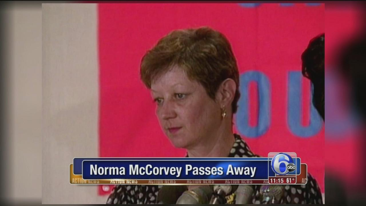 McCorvey, who was at center of Roe v. Wade, dead at 69