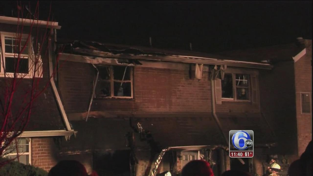 17 displaced after 2-alarm apartment fire in Bucks County