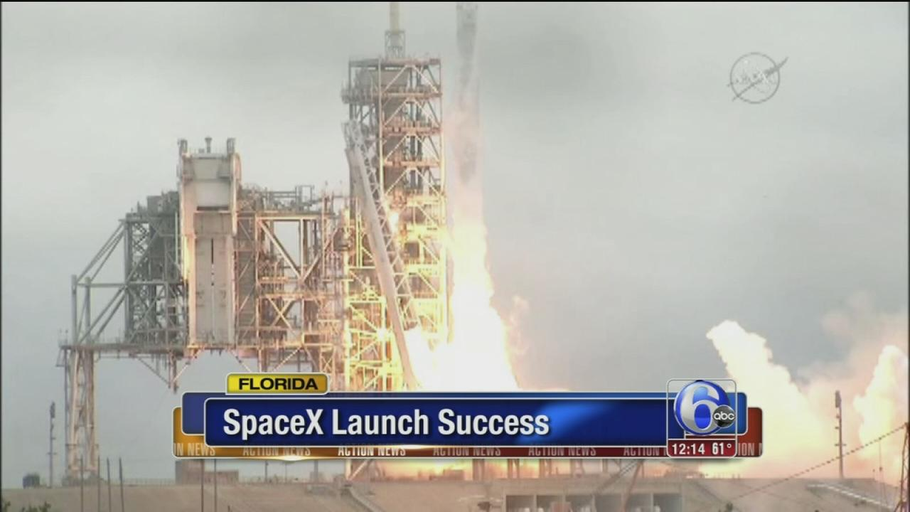 SpaceX launch a success