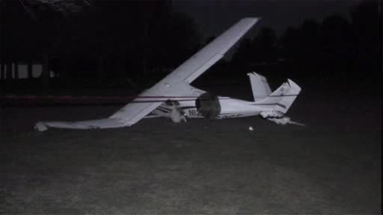 The Federal Aviation Administration is investigating after a small plane crashed on a golf course in Montgomery County.