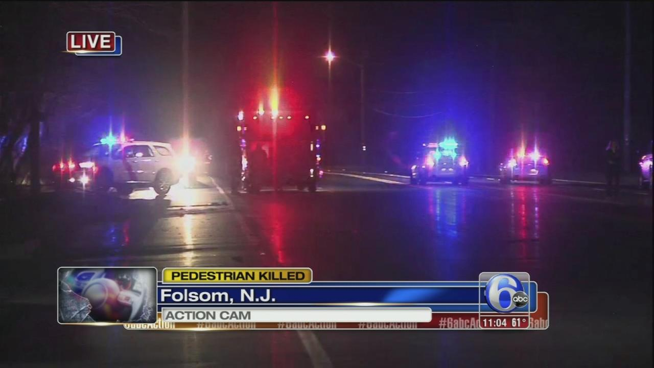 Pedestrian struck, killed on Route 322 in Folsom