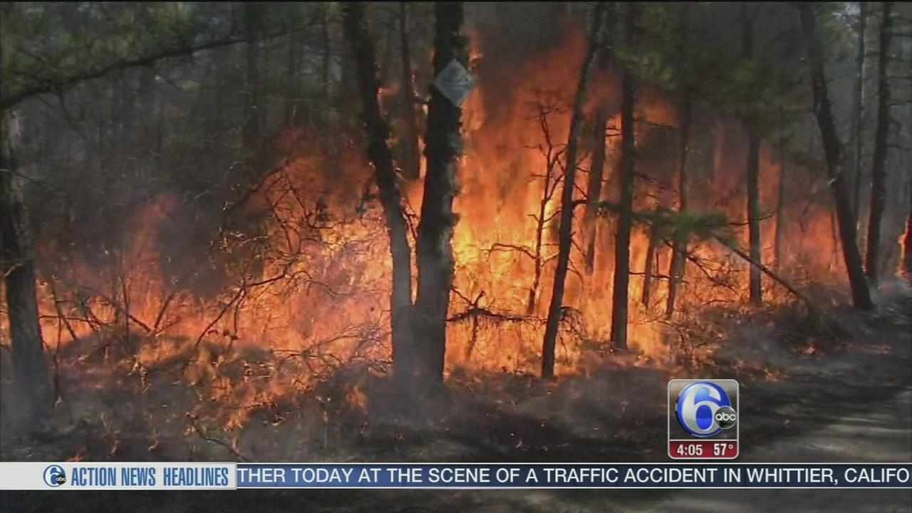 Prescribed burns send smoke billowing over NJ