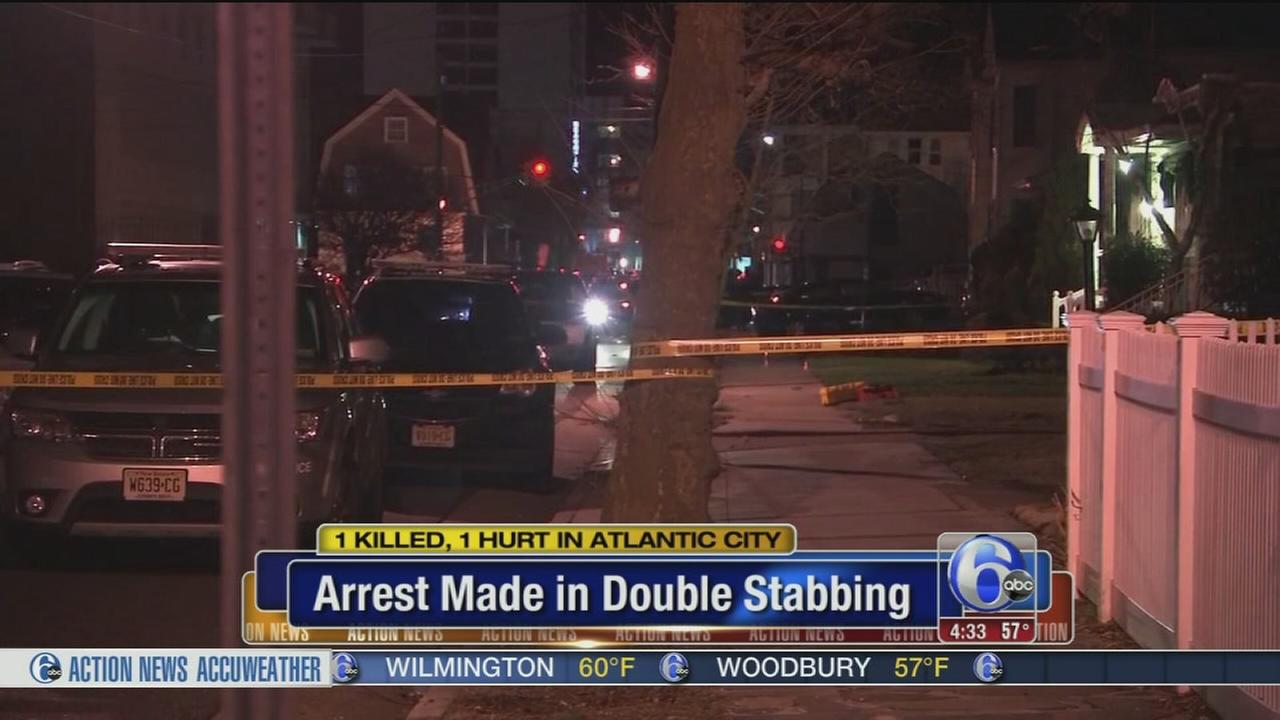 Man charged with murder in Atlantic City double stabbing