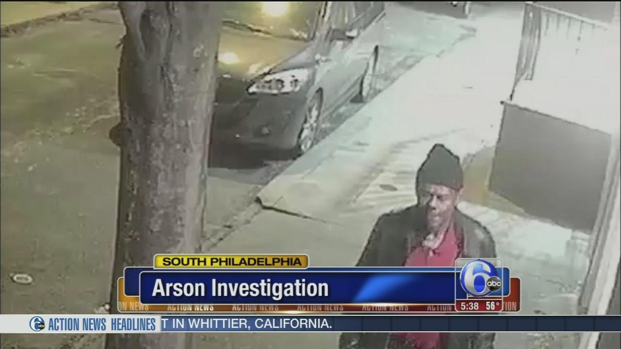 South Philly deli damaged in arson, suspect sought