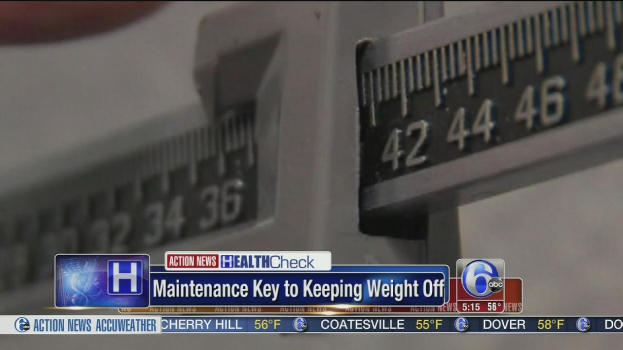 Maintenance program helps keep the weight off